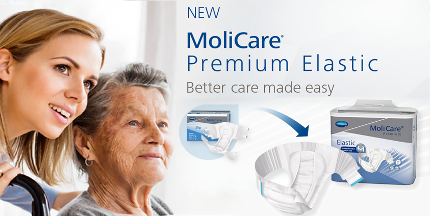 MoliCare Premium Slip is being replaced by <br />MoliCare Premium Elastic